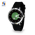 2017 Unique Design Leisure Disc Movement Fashion Analog Big Face Quartz Watch With Silicone Strap