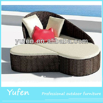 Wicker Furniture Living Room Lightweight Sofa Beds