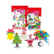 Christmas Day DIY Colorful Magic Corn Bricks Toys Soft Building Block Toys For Children