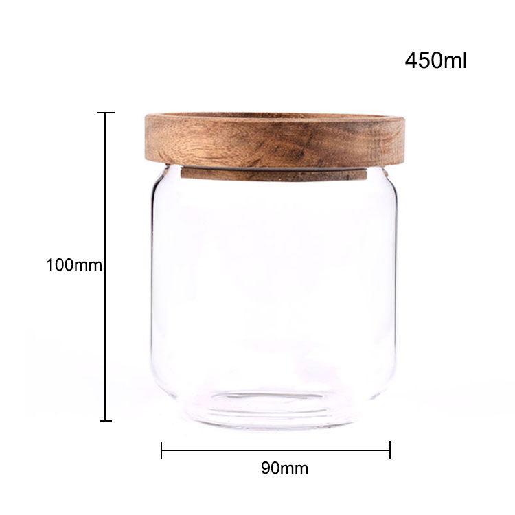 Made in China clear aritight wholesale mason jars