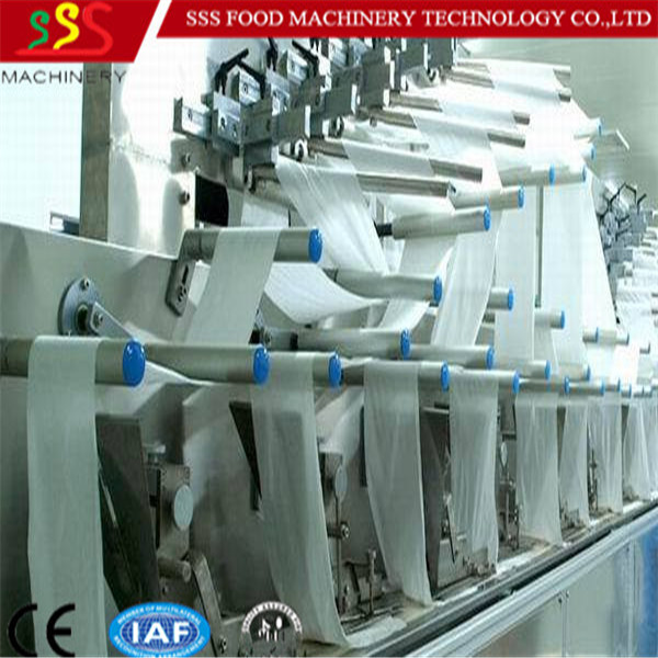 2016 good type cheap price sanitary napkin making machine
