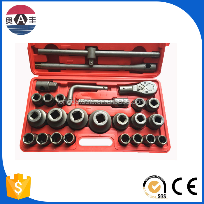 Industrial Grade 26 pcs Rim Metric Cr-V 3/4 Dr Rc Car Tool Boxes
