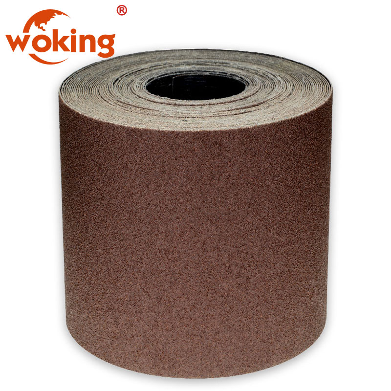 Emery Cloth Roll 60 120 180 grit 5 Metres x 40mm STARCKE Workshop Abrasive flex