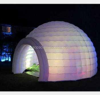 Air igloo outdoor inflatable Eskimo tent Inflatable Igloo Tent & Air IglooOutdoor Inflatable Eskimo TentInflatable Igloo Tent - Buy ...