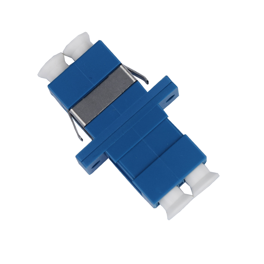 High quality fiber optic duplex pc lc adapter connector