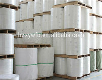 Jumbo roll Cross Lapping/Parallel spunlace nonwoven fabric for wet wipes