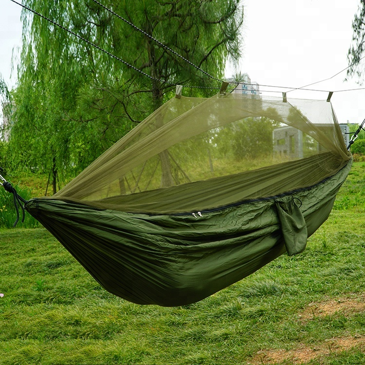 Camping & Hiking Sleeping Bags Ultralight Portable Hammock Mosquito Net For Outdoor Nylon Material Anti-mosquito Nets With Super Size To Enjoy High Reputation At Home And Abroad