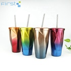 Modern custom color coffee double wall tumbler stainless steel coffee mug