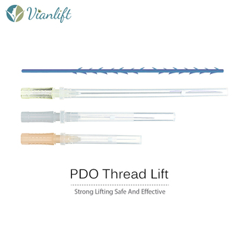 Removing wrinkle PDO PCL 4D Cog with R cannula Face Lifting