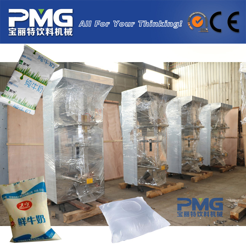Fully Automatic Plastic Water Bag Filling and Sealing Machine / Sachet Water Making Equipment