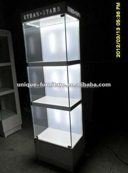 Hoek Vitrinekast Glas.Moderne Meubels Hoek Vitrinekast Glazen Display Showcase Glas