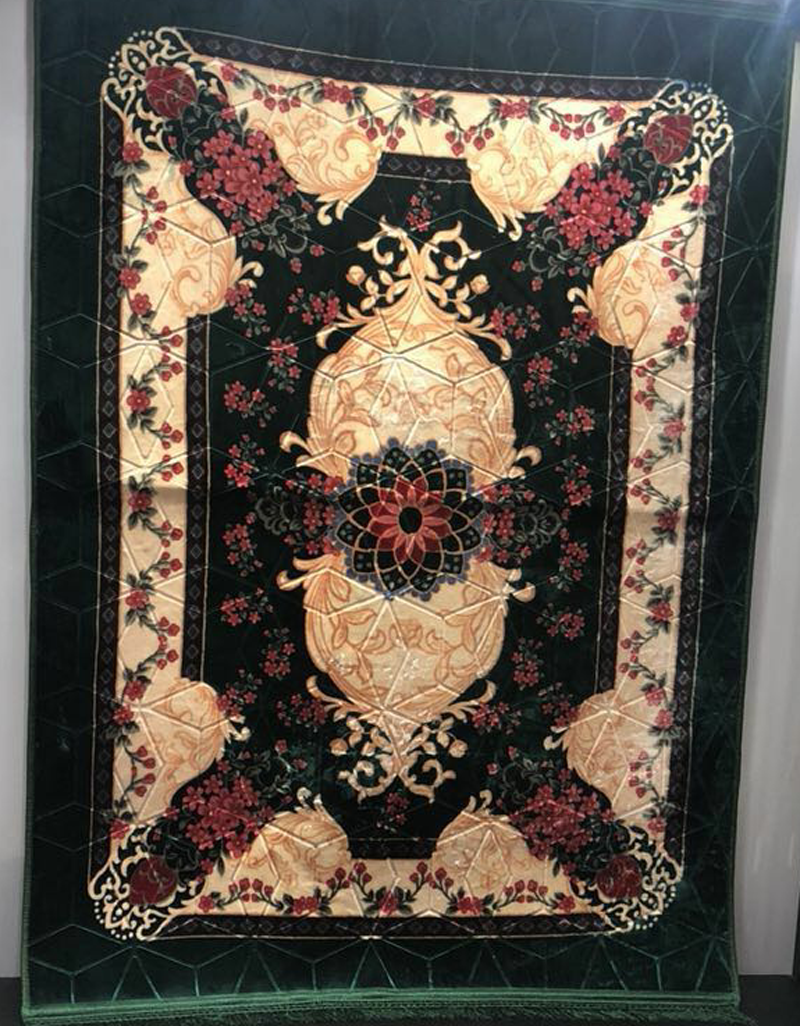 Luxury design custom muslim prayer mat