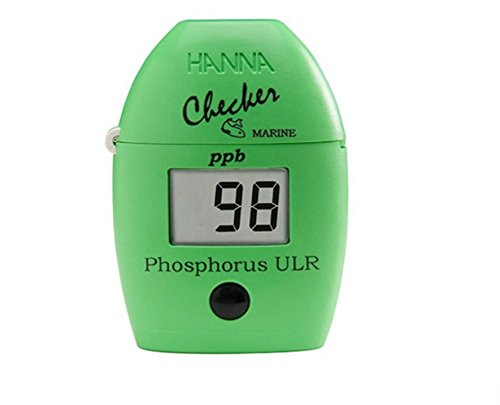 COMBO PACK! Hanna Instruments HI736 Phosphorus Ultra Low Range Checker HC for Saltwater Aquariums plus HI 736-25 (25 reagents)