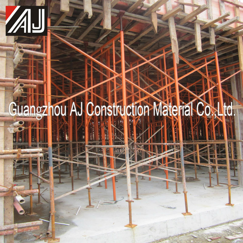 Frame type scaffolding civil works material