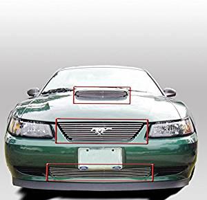 ZMAUTOPARTS For Honda Element JDM Front Upper Billet Grille Grill Insert DX EX LX