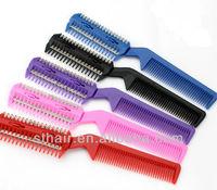 hair salon hair cutting razor comb / hair extenison tools