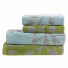 wholesale beauty 100% cotton terry  jacquard used towels for face