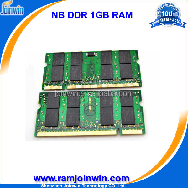 All computer brands full compatible ddr1 1gb ram memory module for laptop