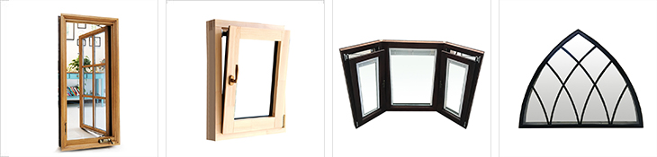 Professional factory aluminum profile windows and door glass
