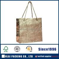 china custom silver hand bag for women