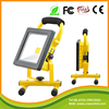 Portable Rechargeable LED Work Flood Light 85-265V IP65 Waterproof Outdoor 50W battery powered led flood lights