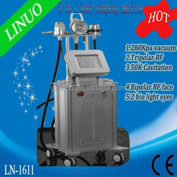 2015 HOTTEST! 5 en 1 cavitation sous vide + rf minceur machine (chaud en europe !!)