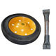 13x3 solid rubber powder South Africa wb3800 wheel and axle
