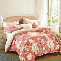 KOSMOS 100% cotton printed california king bedding set printing duvet cover set wholesale home textile made in jiangsu
