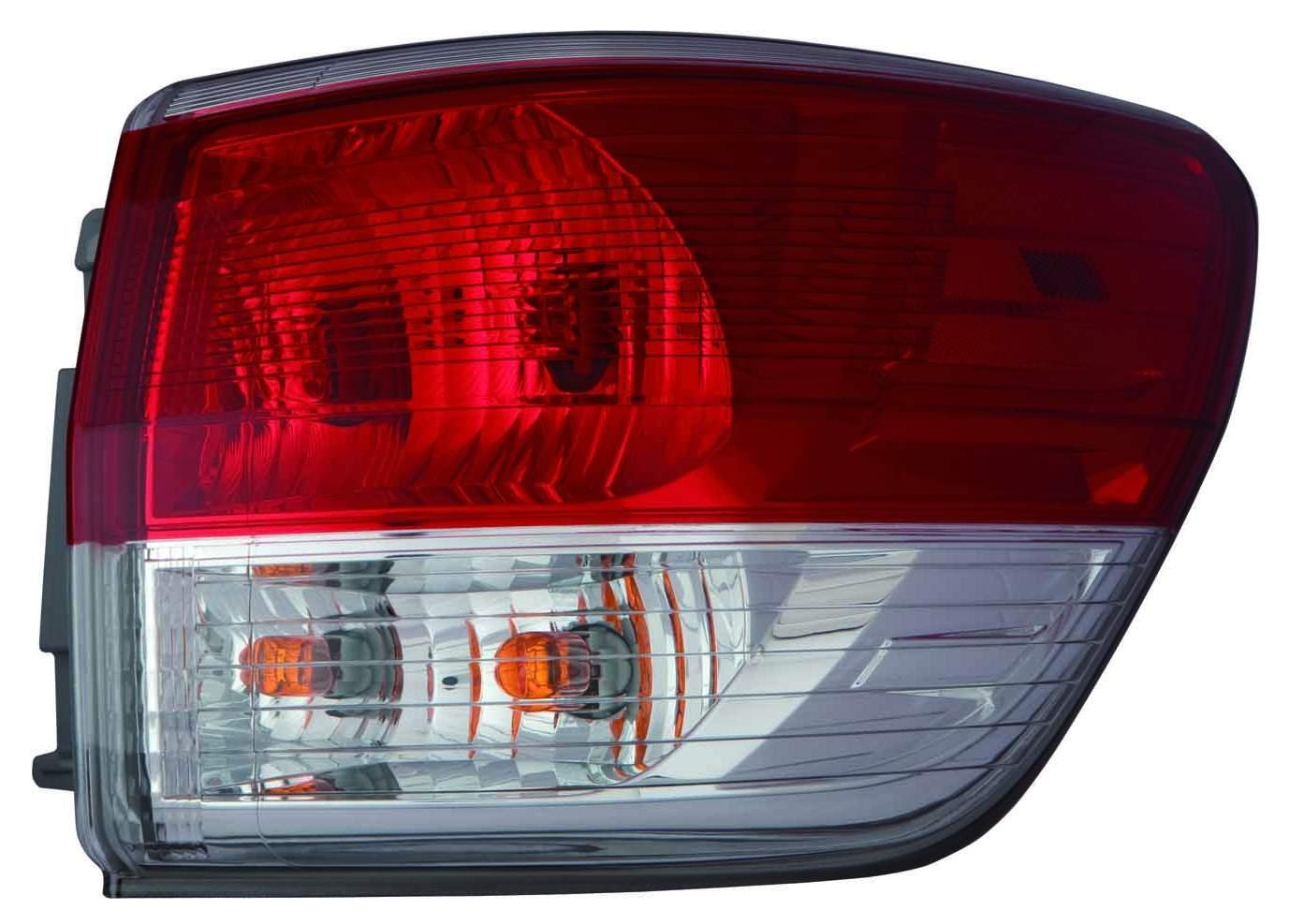 TYC NSF Certified Right Side Tail Light Lamp for Nissan Pathfinder 2013-2015