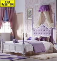 walmart kid purple colour wooden beds
