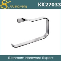 KK27033 High Quality luxury hotel Bathroom Towel Ring ,metal aluminum towel rackbathroom accessories