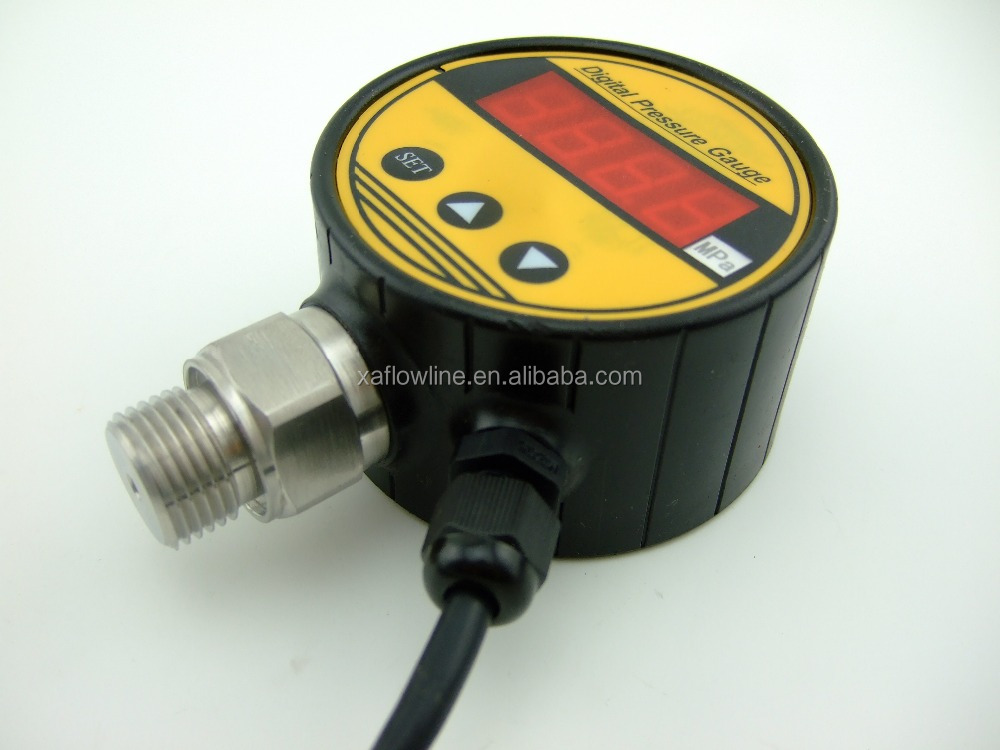The factory supplies pressure gauge cover