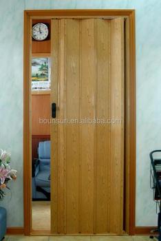 Interior Wood Look Pvc Folding Door Prices Buy Pvc Plastic Interior Door Pvc Accordion Folding