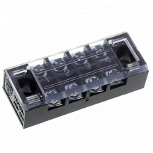 TB-2504 M4 Screw 25A 4-Pole Barrier Battery Terminal Strip