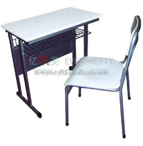 School furniture Classroom Single Student Desk and Char Sets for Study