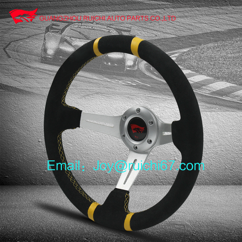 Suede Dedicated Drift steering 350mm-60mm