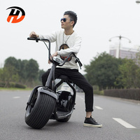2018 BEST SELLER top speed 50km/h 2000W electric scooter 1000w citycoco scooter