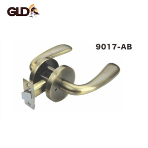 2018 New cylindrical entry push lever lock for Korean lock