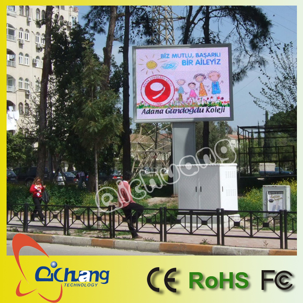 P6 big outdoor led screen customized size in guangzhou