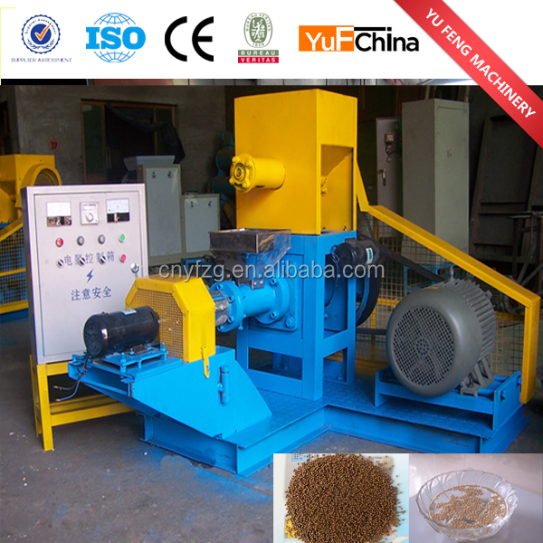 Full automatic industrial equipment for the production of dog food