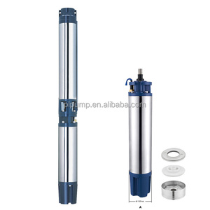 6 inch excellent quality big flow 6SR deep well submersible pump