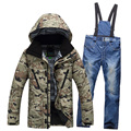 New Winter Snowboarding sets men s Windproof Waterproof Ski Jackets Pants Warm Breathable Clothes Set Sportswear