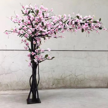 China Factory Cheap Price 2 5m X 2 5m Indoor Artificial Magnolia