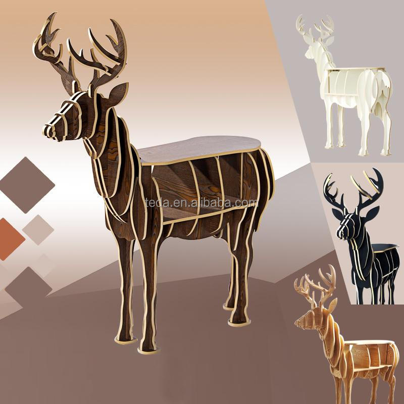 Popular wooden deer from China Alibaba gold supplier
