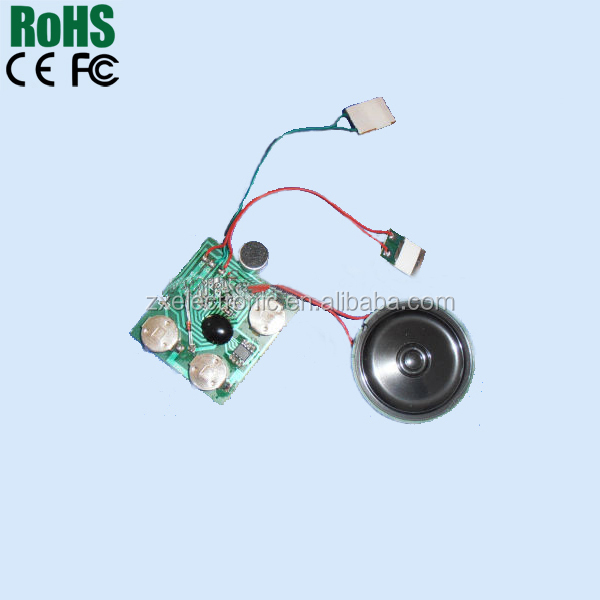Voice Module Light Activated Motion Activated Mini Sound Chip Sound Module
