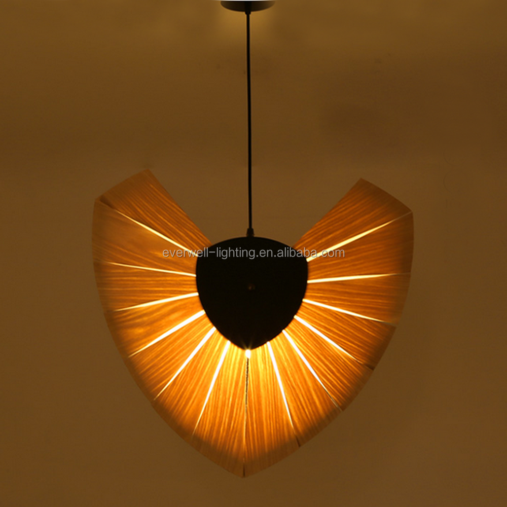 Beautiful Wood Lamp Shade Wood Lamp Shade Suppliers And At With Wood Veneer  Pendant Light.