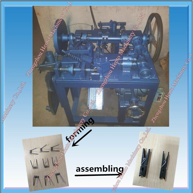 Automatic Torsion Spring Machine For Clothespin