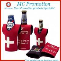 Customized Logo T-shirt Neoprene Bottle Stubby Holder