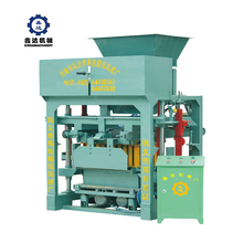 Hot Sale Low Price For QTJ4-40D Automatic Out Of The Brick Baking-free Fixed Cement Hollow Block Brick Making Machine