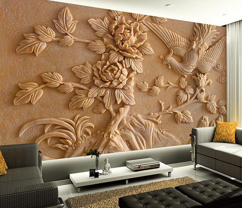 Custom 3d Stereoscopic Wallpaper 3d Wall Murals Wallpaper